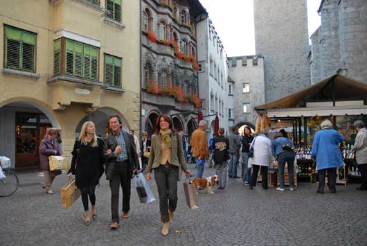 Shoppen in brixen oder klausen ferienwohnung for Hotel a bressanone centro storico